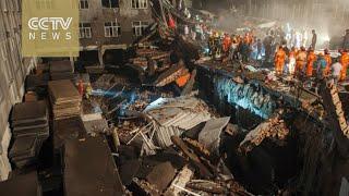 Chine. Une usine de fabrication de chaussures s'effondre et fait plus de 10 morts
