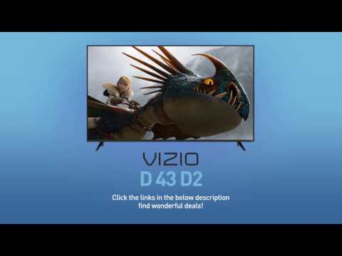 "All-New 2016 VIZIO D43-D2 D-Series 43"" Class Full‑Array LED Smart TV // Full Specs Review  #VIZIO"