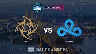 NiP vs Cloud9 - ESL One Cologne 2017 - de_cache [ceh9, Enkanis]