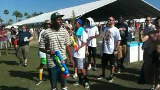 Tyler, The Creator of Odd Future Makes Out with Drunk Girl Coachella 2011