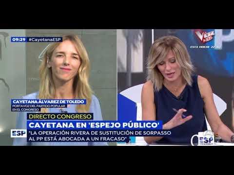 """Álvarez de Toledo: """"Que los españoles unan con su voto lo que los partidos se empeñan en dividir."""""""