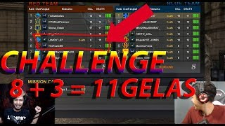 Video 8+3 = 11 GELAS KEMBUNG KEMBUNG DAH TUH - POINT BLANK GARENA INDONESIA PART 2 MP3, 3GP, MP4, WEBM, AVI, FLV Agustus 2017