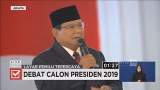 Video Momen Saat Prabowo Marahi Audience di Debat Keempat Capres MP3, 3GP, MP4, WEBM, AVI, FLV Juli 2019