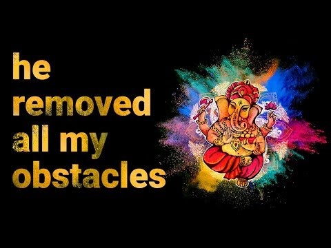 This Mantra Helped Me Remove All Obstacles Ganesha Maha Mantra (Vakratunda Mahakaya)