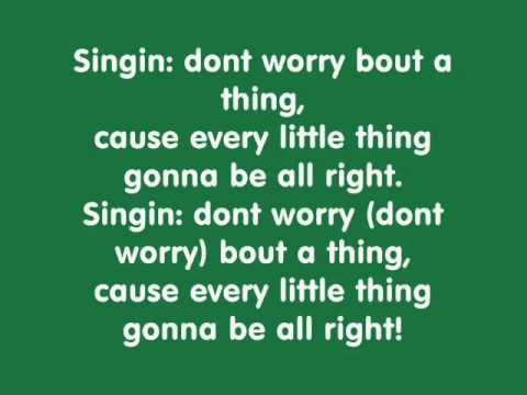 Video Three little birds  Bob Marley with lyrics download in MP3, 3GP, MP4, WEBM, AVI, FLV January 2017