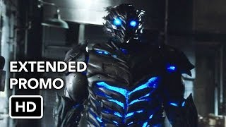 "The Flash 3x21 ""Cause and Effect"" Season 3 Episode 21 Promo - Barry (Grant Gustin) takes drastic measures to stop Savitar. Meanwhile, H.R. (Tom Cavanagh) continues to push Tracy Brand (guest star Anne Dudek) to design the trap for Savitar and Killer Frost (Danielle Panabaker) returns with an interesting proposal. David McWhirter directed the episode written by Judalina Neira & Lauren Certo (FLA321). Original airdate 5/9/2017."