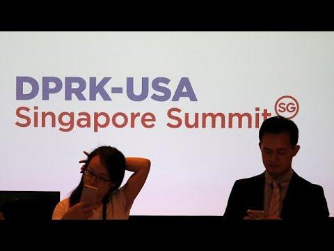 Singapur: Gipfel mit Trump und Kim - was steht auf  ...