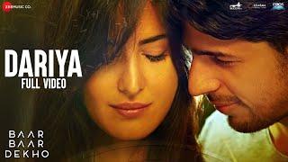 Nonton Dariya   Full Video   Baar Baar Dekho   Sidharth Malhotra   Katrina Kaif   Arko Film Subtitle Indonesia Streaming Movie Download