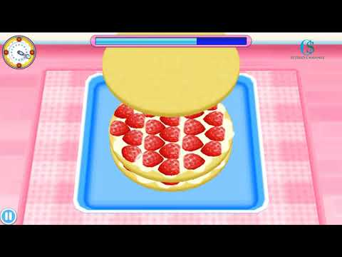 Decorated Cake I Cooking With Cooking Mama!