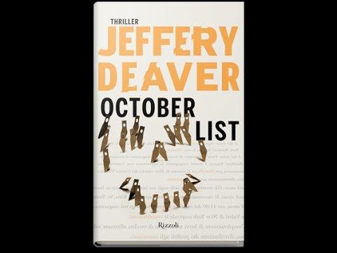 Jeffery Deaver – October List