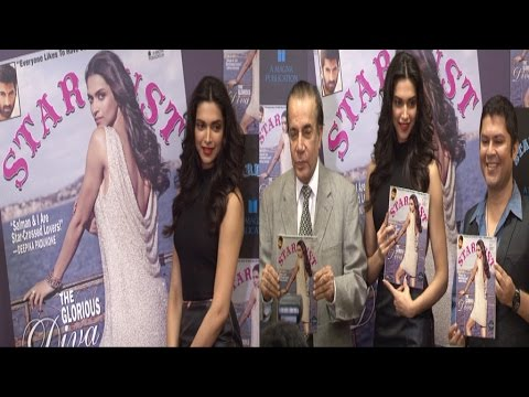 Deepika Padukone Launched Cover Page Of Stardust Magazine