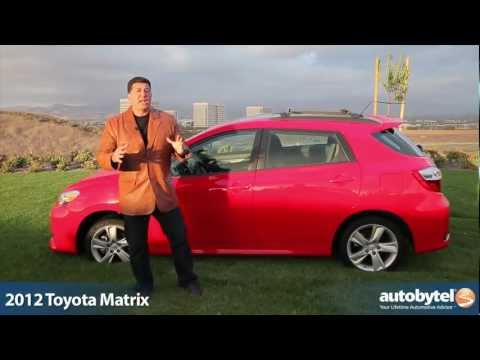 2012 Toyota Matrix Video Review and Road Test