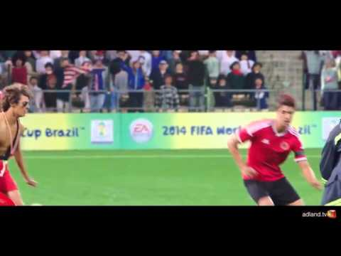 EA Sports FIFA World Cup 2014 Video Game Commercial (Be The Next American Hero)