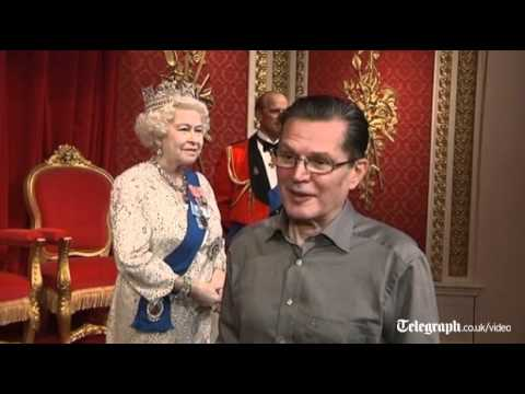 Diamond Jubilee: New Waxwork of the Queen unveiled at Madame Tussauds