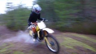 9. Suzuki RM 125 -1983 Vintage Dirtbike First Test