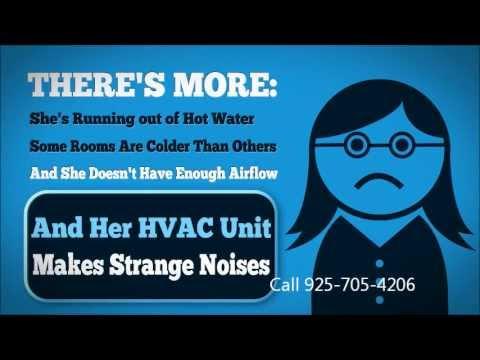 HVAC in Dublin CA Heating and Air Conditioning Repair 925-705-4206