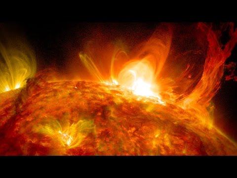 astronomy - solar storms