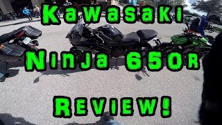5. Kawasaki Ninja 650r Review Ride!