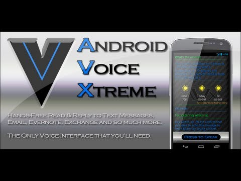 Video of AVX - (Siri for Android)