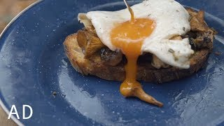 Foraged Mushrooms on Toast - lets take it back to the beginning by Food Busker