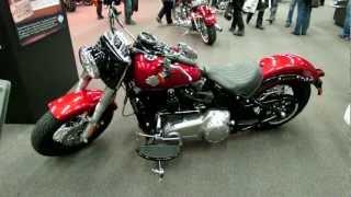 10. 2012 Harley-Davidson Softail Slim at 2012 Montreal Motorcycle Show