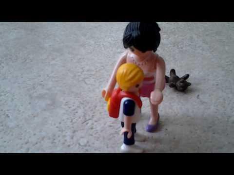 Playmobil: Rémy (1), mal aimé par sa mère (видео)