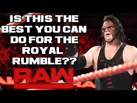 WWE Raw 12/11/17 Full Show Review & Results: SO...STROWMAN & KANE ARE THE BEST YOU HAVE FOR LESNAR?