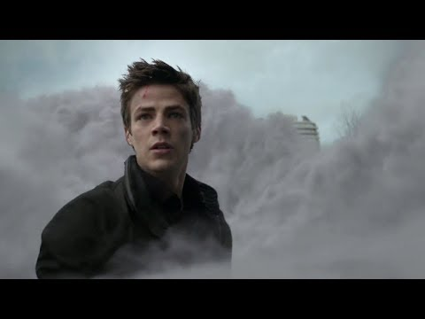 The Flash 1x01 - Barry faces his first metahuman