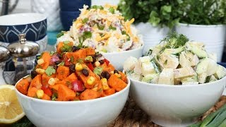 Easy Potato Salad 3 Delicious Ways by The Domestic Geek