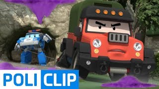 Video Duel in the mountains with Poacher | Robocar Poli Clips MP3, 3GP, MP4, WEBM, AVI, FLV Juli 2018