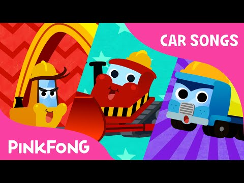Giant Truck Team | Car Songs | PINKFONG Songs for Children