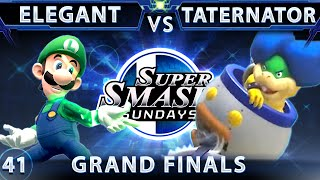 An amazing GFs between Elegant (Luigi) and Taternator (Bowser Jr) at SSS 41