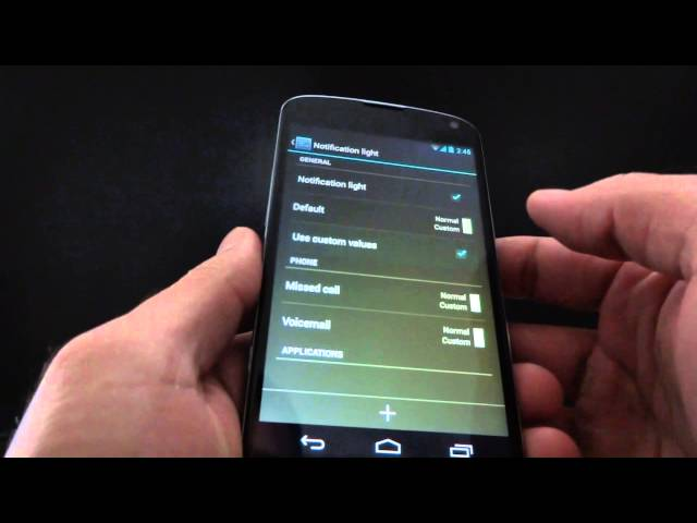Official CM10.1 (Android 4.2.2) Demo on the Nexus 4