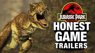 JURASSIC PARK GAMES Feat. Jeff Goldblum (Honest Game Trailers) by Smosh Games