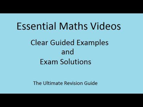 Der Trick, um Prozentwerte - GCSE Mathematik Revision leicht gemacht