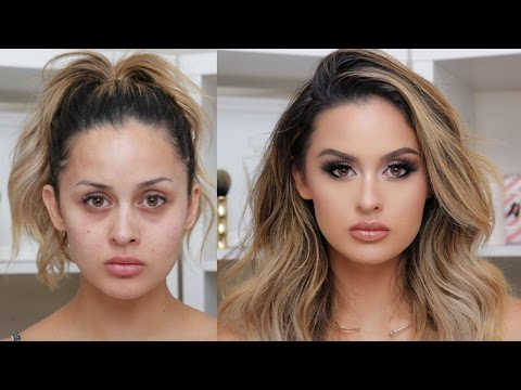 FULL FACE COVERAGE GLAM MAKEUP TUTORIAL