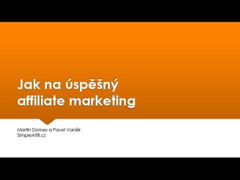 Webinář: Jak na úspěšný affiliate marketing