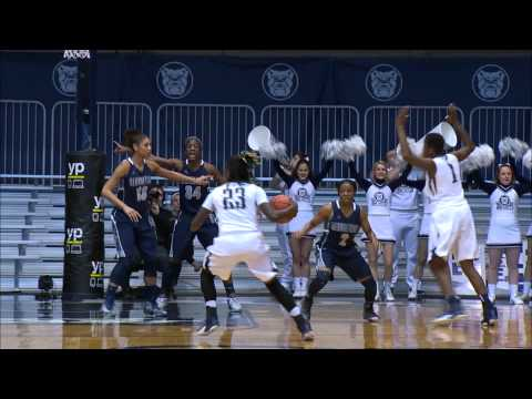 Butler Women's Basketball Highlights vs. Georgetown