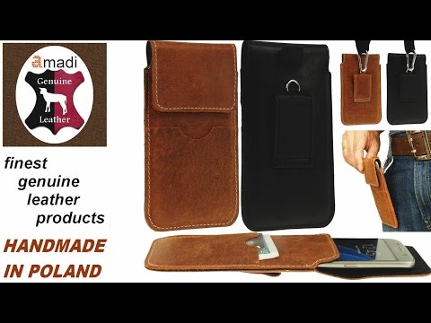 Handy Vertical Holster With Belt Loop & Hook & Pull-Up For Apple iPhone 7 Plus