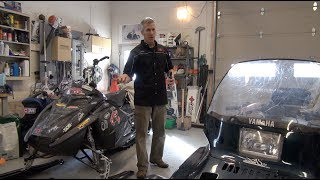 1. How to start a flooded snowmobile, PowerModz!