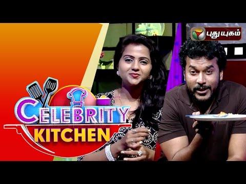 Actors Krithika   Arun in Celebrity Kitchen   07-02-2016