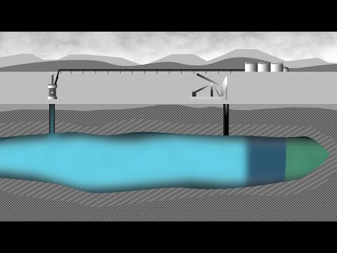 a below-ground look at waterflood/<br>polymer/<br>surfactant injection