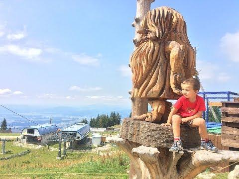 (cz) Bikepark Krvavec Bambini trail 2018