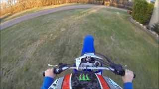 10. New dirtbike! 2005 yamaha ttr 230! practicing whips and catwalks!