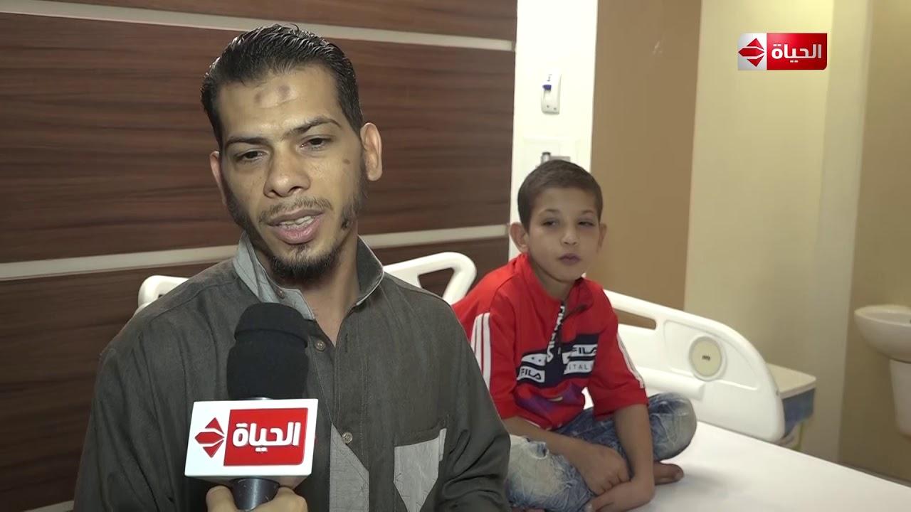 صبايا - لقاء مع والد الطفل مصطفى قبل وبعد إجراء عملية ثقب في القلب بمساعدة ريهام سعيد
