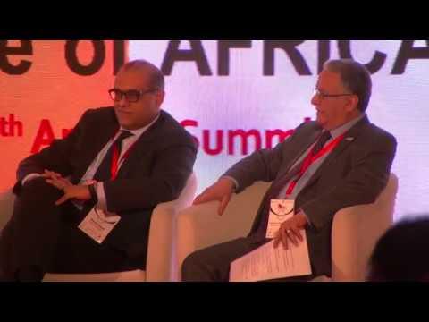 الجلسة الأولي منتدي مصر الاقتصادي الحادي عشر سمارت فيجن 2019
