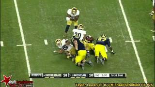 Michael Schofield vs Notre Dame (2013)