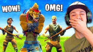 Download Video DEFAULTS react to my TIER 100 Dire WOLF skin! MP3 3GP MP4