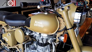 6. 2019 Royal Enfield Classic 500 ABS   Desert Storm   Price   Mileage   Features   Specs