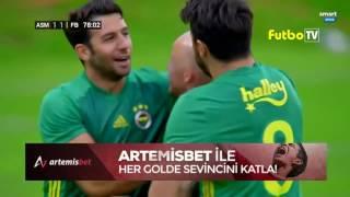 Fenerbahçe'mizin golünü mükemmel bir golle Miroslav Stoch kaydetti !